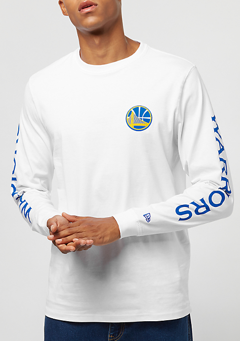 New Era LS Team APP Golden State Warriors white
