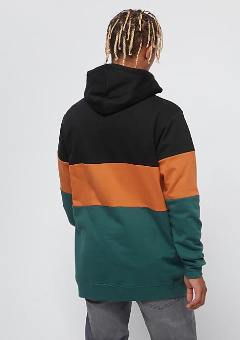 Cleptomanicx Deck Stripe Hooded black