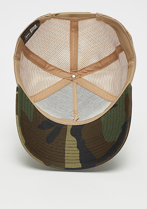 New Era 9Forty MXMXX Patch Trucker woodland camo