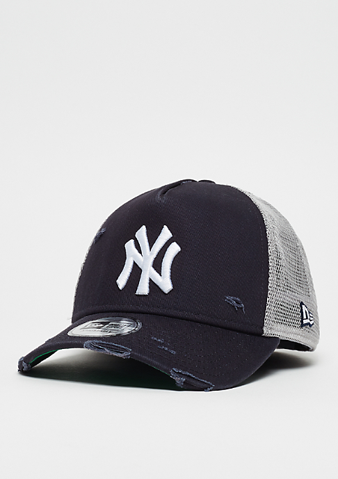 New Era 9Forty MLB New York Yankees Distressed Trucker otc