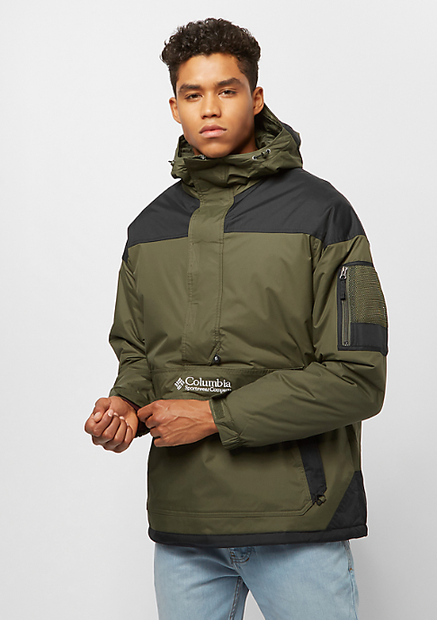 Columbia Sportswear Challenger Pullover peatmoss black soft metal