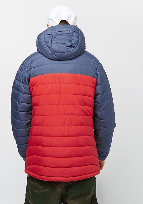 Columbia Sportswear Powder Lite Hooded red spark dark mountain