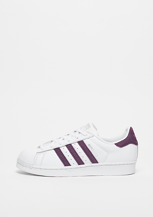 adidas Superstar ftwr white/red night/silver metallic