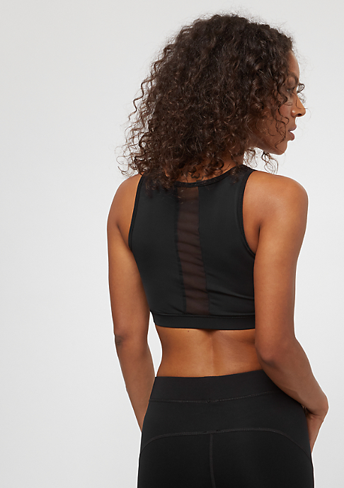 Urban Classics Ladies Arrow Mesh Bra black
