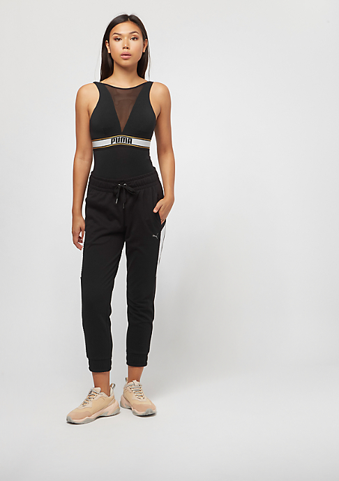 Puma High Neck Bodysuit black/white