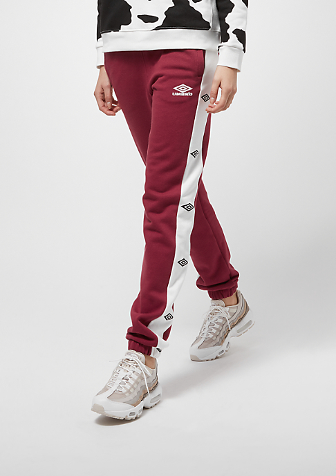 Umbro Sweat Side Logo burgundy/white
