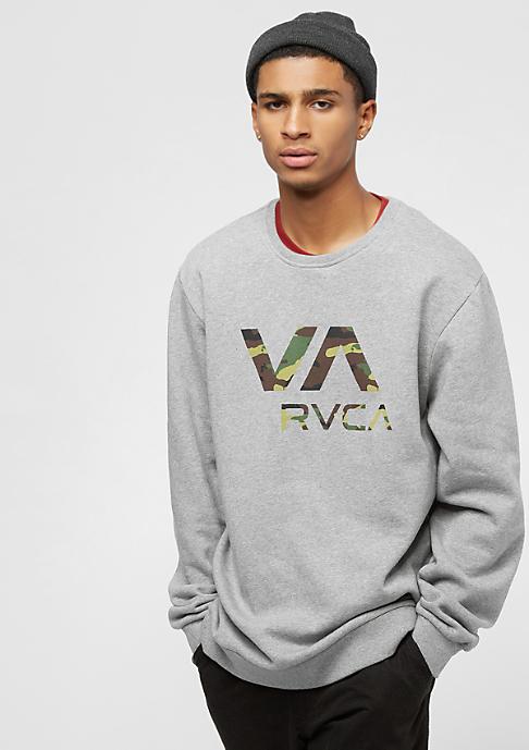 RVCA Va Rvca Crew athletic heather