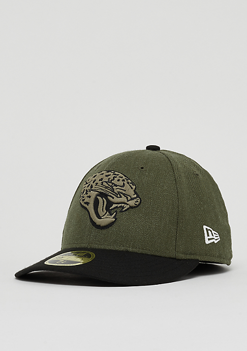 New Era 59Fifty Low Profile NFL Jacksonville Jaguars har/otc