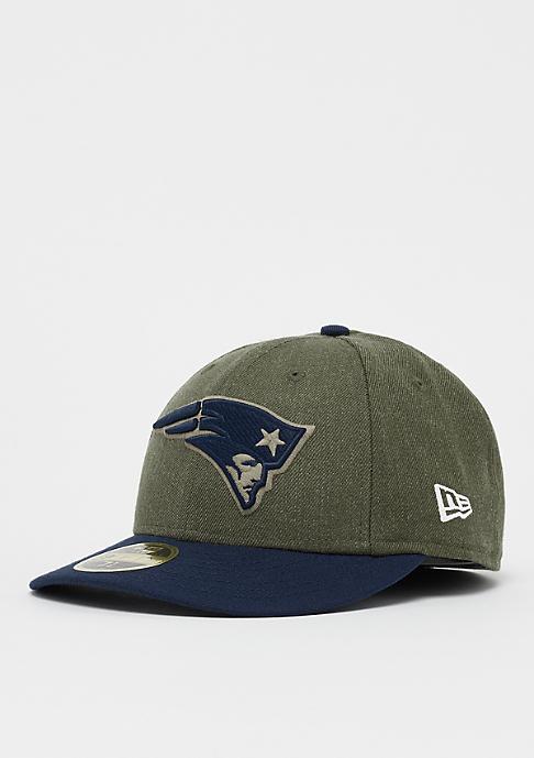 New Era 59Fifty Low Profile NFL New England Patriots har/otc
