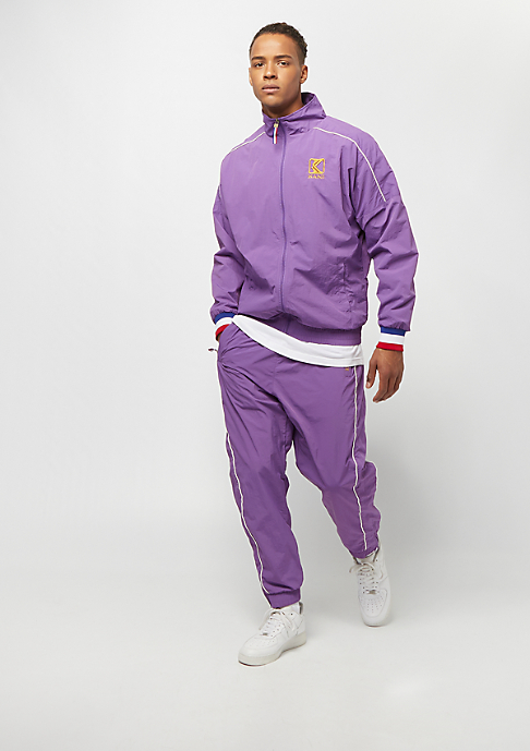 Karl Kani College Trackjacket purple