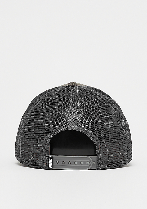 Djinn's HFT Cap Spotted Edge grey