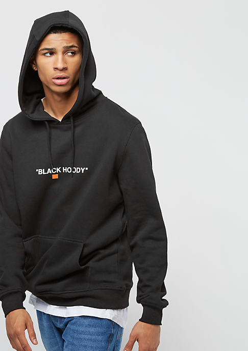 Turn Up Black Hoody