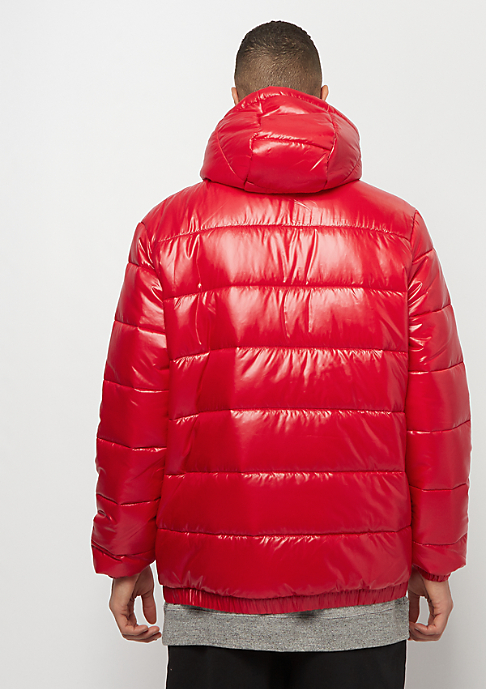 JORDAN Jumpman Puffer Jacket gym red burgundy crush white