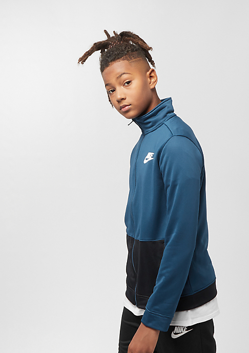 NIKE B NSW TRACK SUIT POLY blue force/black/white