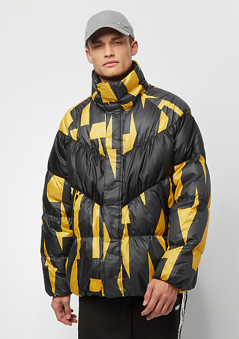 NIKE NSW Down Fill Jacket SNL yellow ochre/black/black