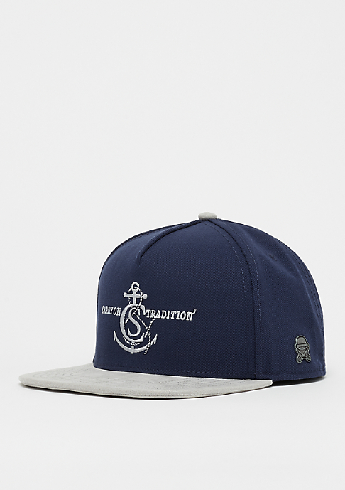 Cayler & Sons C&S CL Tradition Cap navy/grey