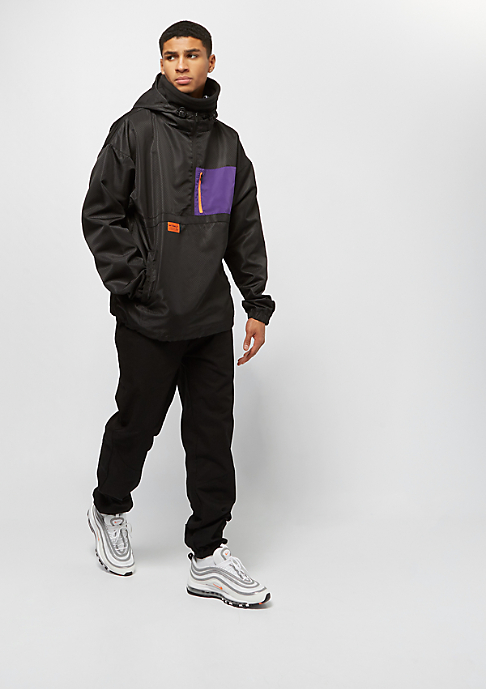 Cayler & Sons CSBL RTN Box Half Zip Windbreaker black/purple