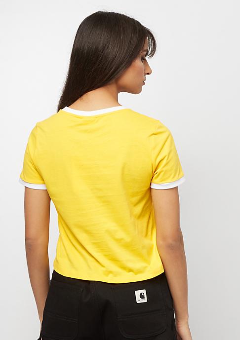 Fila FILA Urban Line Tee WMN Ashley cropped empire yellow