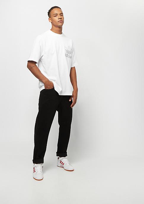 adidas Outline Tee white