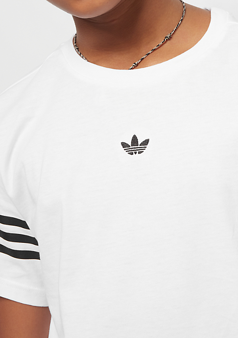 adidas Outline Tee white/black