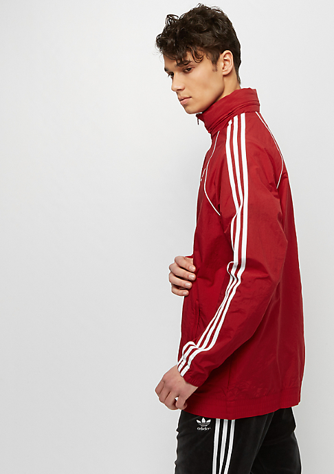 adidas SST Windbreaker power red