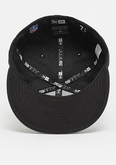New Era 59Fifty NFL Oakland Raiders Heather black/gray/black