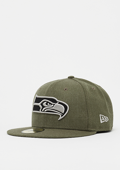 New Era 59Fifty NFL Seattle Seahawks Heather army/gray/black