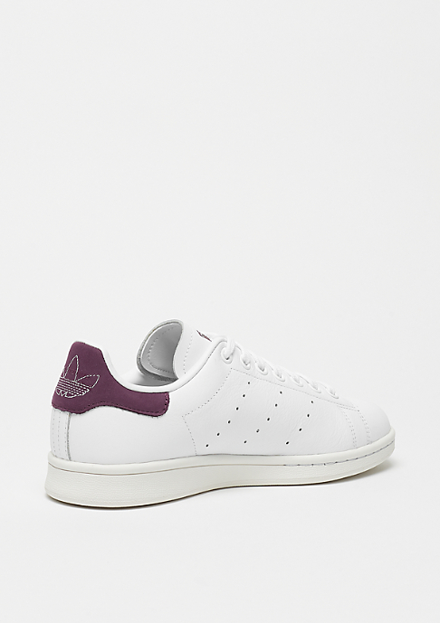 adidas Stan Smith ftwr white/ftwr white/maroon