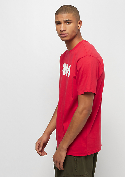 Fila FILA Urban Line Pure Short Sleeve Shirt true red