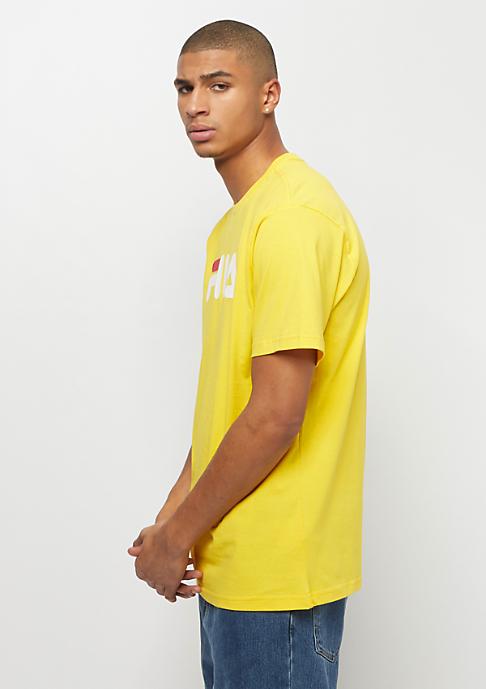 Fila FILA Urban Line Pure Short Sleeve Shirt empire yellow