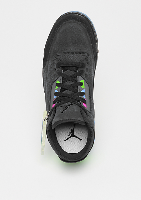 JORDAN Air Jordan 3 Retro SE Q54 black/black/green/infrared 23
