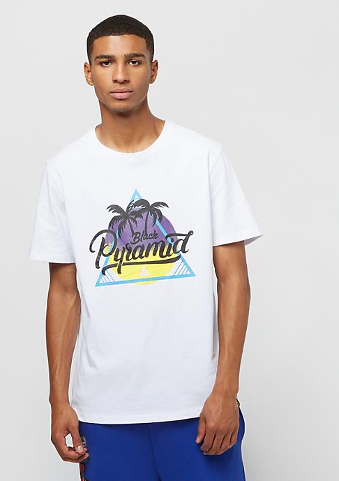 Black Pyramid Palm white