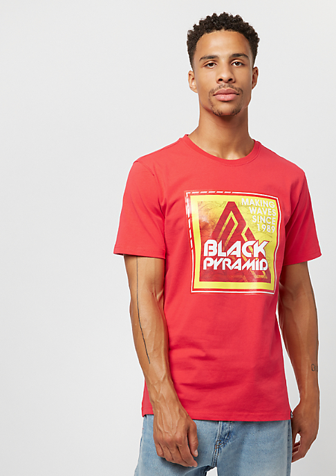 Black Pyramid Stamp red