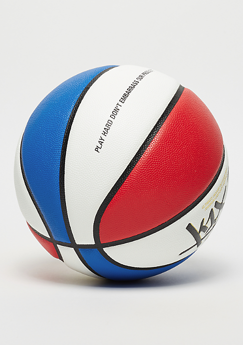 K1X K1X x Snipes Ultimate Money Ball Size 7 white/red/blue