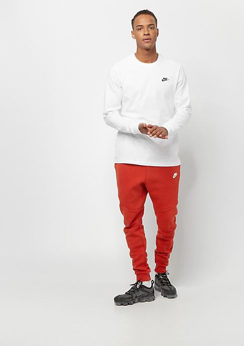 NIKE Tech Fleece mystic red/white