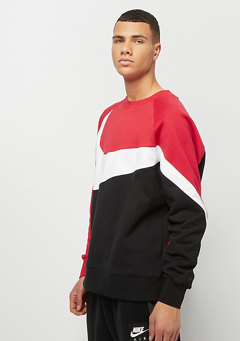 NIKE HBR Crew university red/white/black/black