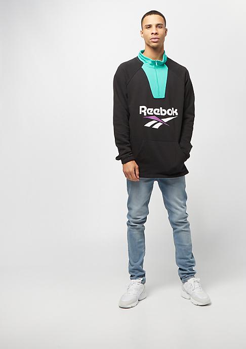 Reebok CL V 1/4 Zip black