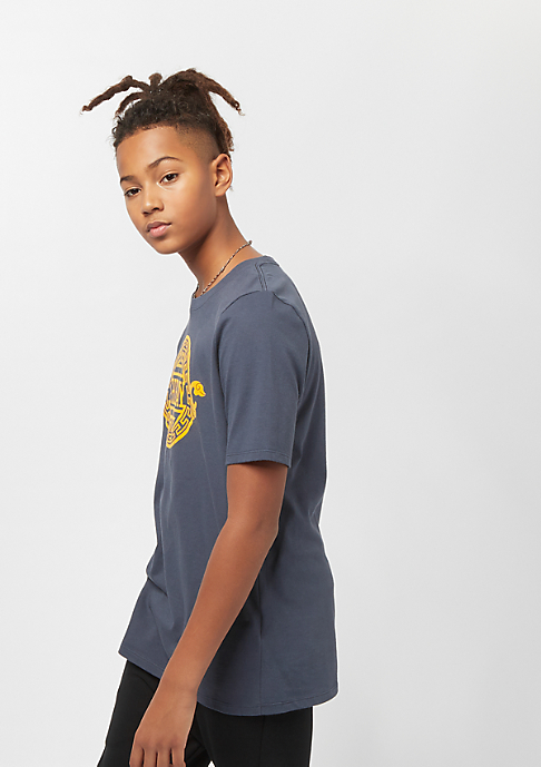 NIKE Junior NBA CE Golden State Warriors Dry ES SS thunder blue
