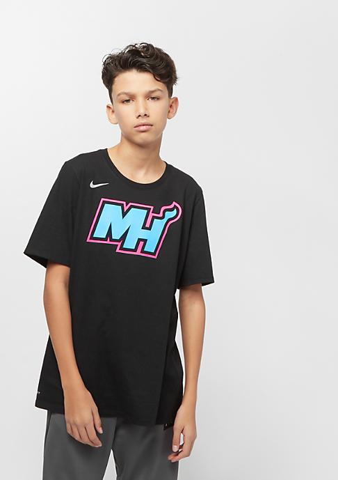 NIKE Junior NBA CE Miami Heat Dry ES SS