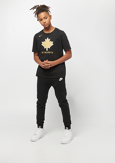 NIKE Junior NBA CE Toronto Raptors Dry ES SS black