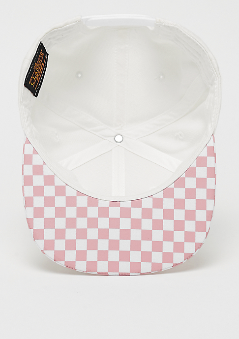 Flexfit Checkerboard Snap lightrose/white