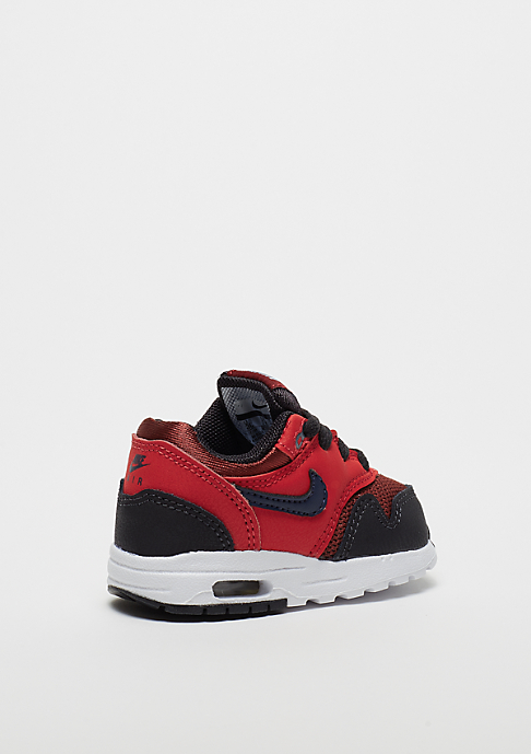 NIKE Air Max 1 (TD) rough red/midnight navy/university red