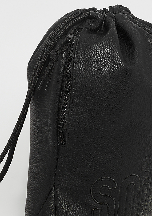 SNIPES Fake Leather Gymbag black