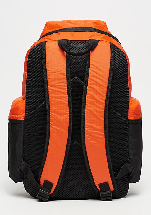 Urban Classics Backpack Colourblocking vibrantorange/black