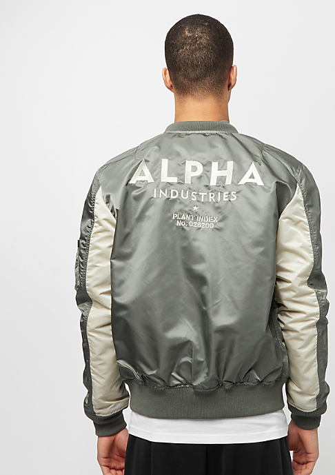 Alpha Industries MA-1 TT Custom vintage green