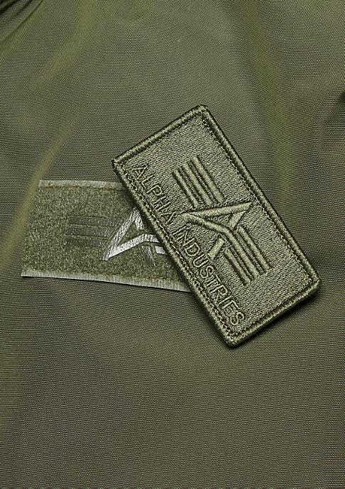 Alpha Industries MA-1 TT Hood dark green