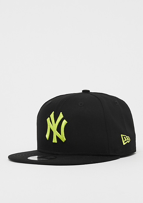New Era 9Fifty MLB New York Yankees Essential black/cyber green