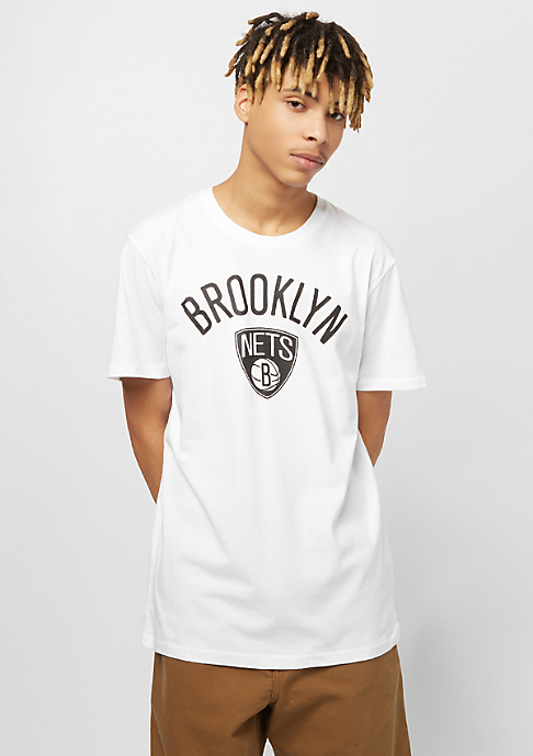 New Era NBA Team Logo Tee Brooklyn Nets white