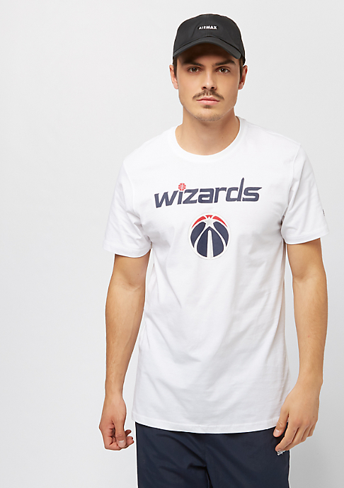 New Era NBA Team Logo Tee Washington Wizards white