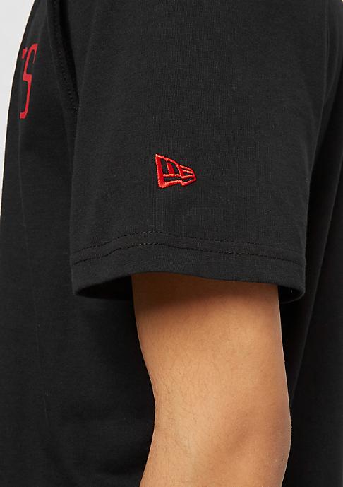 New Era NBA Team Logo Tee Houston Rockets black
